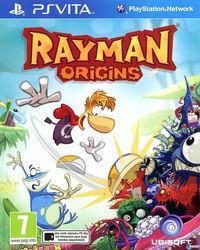 Portada oficial de Rayman Origins para PSVITA