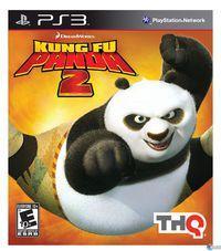 Portada oficial de Kung Fu Panda 2 para PS3