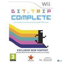Portada oficial de Bit.Trip Complete para Wii