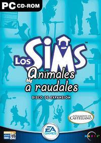 Portada oficial de Los Sims: Animales a Raudales para PC