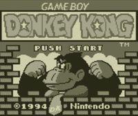 Portada oficial de Donkey Kong '94 CV para Nintendo 3DS