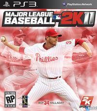 Portada oficial de Major League Baseball 2K11 para PS3