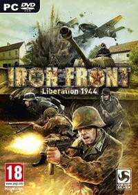 Portada oficial de Iron Front – Liberation 1944 para PC