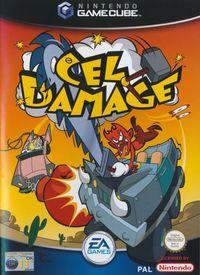 Portada oficial de Cel Damage para GameCube