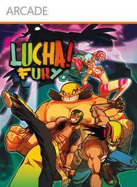 Portada oficial de Lucha Fury XBLA para Xbox 360