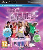 Portada oficial de de Let's Dance para PS3