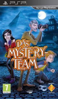 Portada oficial de The Mystery Team para PSP