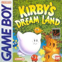 Portada oficial de Kirby's Dream Land CV para Nintendo 3DS