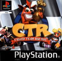 Portada oficial de Crash Team Racing para PS One