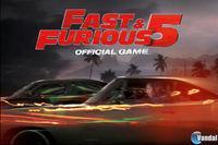 Portada oficial de Fast & Furious 5 para iPhone