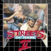 Portada oficial de Streets of Rage 2 PSN para PS3