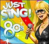 Portada oficial de Just Sing! 80s Collection DSiW para NDS