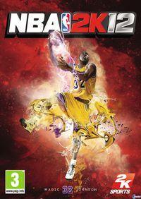 Portada oficial de NBA 2K12 para PS3