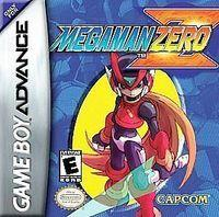 Portada oficial de Megaman Zero  para Game Boy Advance