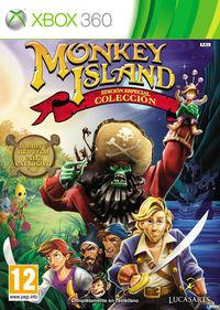 Portada oficial de Monkey Island Special Edition Collection para Xbox 360