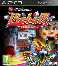 Portada oficial de Williams Pinball Classics para PS3