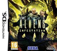 Portada oficial de Aliens: Infestation para NDS