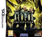 Portada oficial de de Aliens: Infestation para NDS