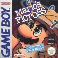 Portada oficial de Mario's Picross CV para Nintendo 3DS