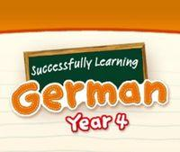 Portada oficial de Succesfully Learning German Year 4 WiiW  para Wii