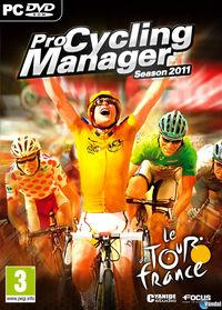 Portada oficial de Pro Cycling Manager 2011 para PC