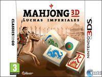 Portada oficial de Mahjong 3D: Luchas Imperiales para Nintendo 3DS