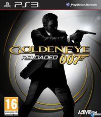 Portada oficial de GoldenEye 007 Reloaded para PS3