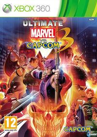Portada oficial de Ultimate Marvel vs Capcom 3 para Xbox 360