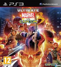 Portada oficial de Ultimate Marvel vs Capcom 3 para PS3
