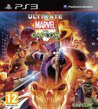 Portada oficial de de Ultimate Marvel vs Capcom 3 para PS3