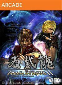 Portada oficial de Double Dragon II: Wander of the Dragons XBLA para Xbox 360