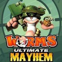 Portada oficial de Worms: Ultimate Mayhem para PC
