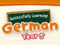 Portada oficial de Succesfully Learning German Year 5 WiiW para Wii