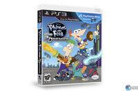 Portada oficial de Phineas y Ferb: A Través de la Segunda Dimensión para PS3