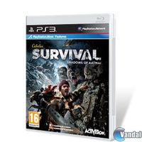 Portada oficial de Cabela's Survival: Shadows of Katmai para PS3
