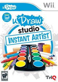 Portada oficial de uDraw Studio Instant Artist para Wii