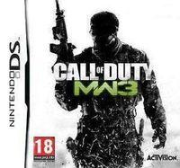 Portada oficial de Call of Duty: Modern Warfare 3 para NDS