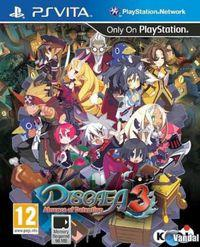 Portada oficial de Disgaea 3: Absence of Detention para PSVITA