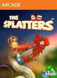 Portada oficial de The Splatters XBLA para Xbox 360