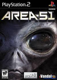 Portada oficial de Area 51 para PS2