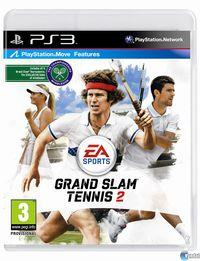 Portada oficial de Grand Slam Tennis 2 para PS3