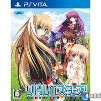 Portada oficial de Little Busters Converted Edition para PSVITA