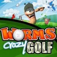 Portada oficial de Worms Crazy Golf PSN para PS3