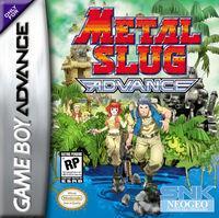 Portada oficial de Metal Slug Advance para Game Boy Advance