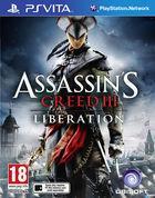 Portada oficial de de Assassin's Creed III: Liberation para PSVITA