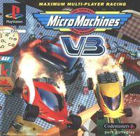 Portada oficial de Micro Maniacs para PS One