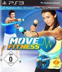 Portada oficial de Move Fitness para PS3