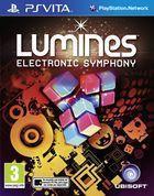 Portada oficial de de Lumines Electronic Symphony para PSVITA
