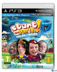Portada oficial de Start the Party! Salva el Mundo para PS3