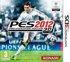 Portada oficial de de Pro Evolution Soccer 2012 3D para Nintendo 3DS